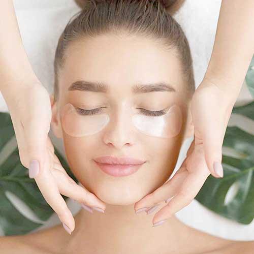 Masaj facial gem stone